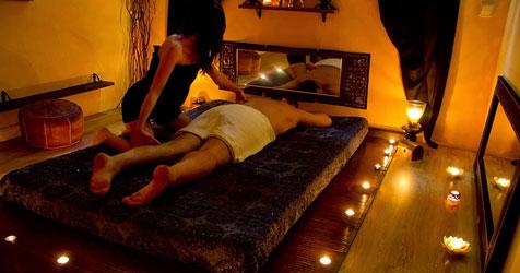 массаж ветка сакуры